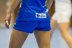 At handball match between Slovenia and Montenegro at EHF European Women's Handball Championship Under 19, on July 27, 2017 in Golovec sports hall, Celje, Slovenia. Photo by Urban Urbanc / Sportida
