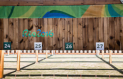 Targets during Qualification of R7 - Men's 50m Rifle 3 Positions SH1 on day 5 during the Rio 2016 Summer Paralympics Games on September 12, 2016 in Olympic Shooting Centre, Rio de Janeiro, Brazil. Photo by Vid Ponikvar / Sportida