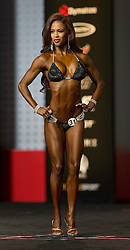 Sept.16, 2016 - Las Vegas, Nevada, U.S. -  INDIA PAULINO competes in the Bikini Olympia contest during Joe Weider's Olympia Fitness and Performance Weekend.(Credit Image: © Brian Cahn via ZUMA Wire)