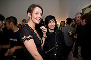 SAFFRON ALDRIDGE; SHARLEEN SPITERI Miles Aldridged exhibition. Hamiltons. Carlos Place, London.  31 March 2009