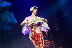 Rome, Caput Mundi International Burlesque Award 2016. In the photo: Vicky Butterfly *** NO NO DAILY WEB *** ***