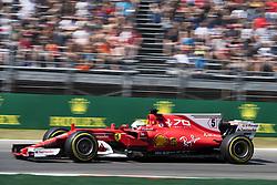 September 1, 2017 - Monza, Italy - Motorsports: FIA Formula One World Championship 2017, Grand Prix of Italy, .#5 Sebastian Vettel (GER, Scuderia Ferrari) (Credit Image: © Hoch Zwei via ZUMA Wire)