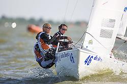 08_003772 © Sander van der Borch. Medemblik - The Netherlands,  May 24th 2008 . Day 4 of the Delta Lloyd Regatta 2008.