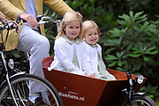 Photocall of the dutch Royal Family.<br /> On the photo: princess Catharina-Amalia, princess Alexia <br /> <br /> Fotosessie op Landgoed de Horsten in Wassenaar <br /> Op de foto: Prinses Alexia en Prinses Ariane .