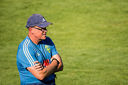July 4, 2018 - Gelendzhik, Russia - 180704 Head coach Janne Andersson of the Swedish national football team at a practice session during the FIFA World Cup on July 4, 2018 in Gelendzhik..Photo: Petter Arvidson / BILDBYRN / kod PA / 92081 (Credit Image: © Petter Arvidson/Bildbyran via ZUMA Press)