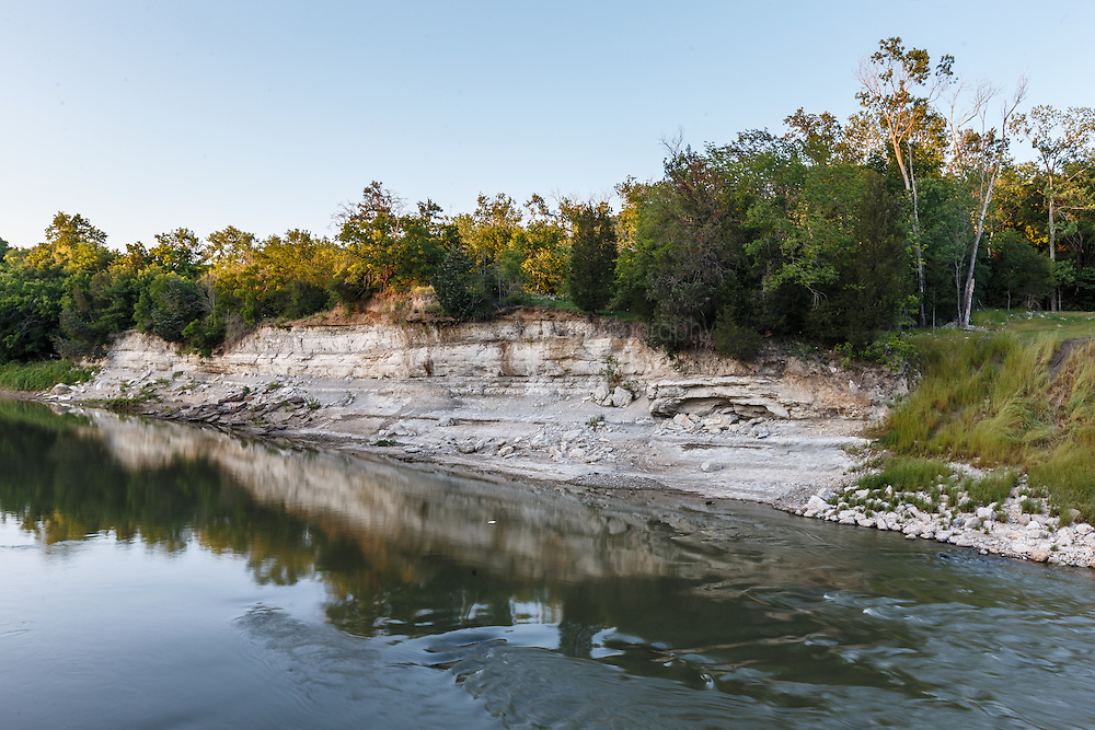 McCommas Bluff and Trinity River, Great Trinity Forest, Dallas, Texas, USA