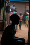 Mcc0075406 . Daily Telegraph<br /> <br /> DT Foreign<br /> <br /> <br /> A young woman who was a victim of rape at the age of sixteen and then operated from the child she bore .<br /> <br /> Children in POC 3 , the Protection of Civilian Camp inside the vast UN compound on the outskirts of Juba . Over 20,000 civilians who predominantly fled from conflict in the equatorial states of South Sudan . United Nation's agencies recently announced a famine in the war torn country .<br /> <br /> Juba 27 February 2017