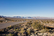 Solar Farm, Death Valley, California, USA