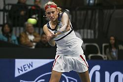 April 14, 2017 - Biel, Schweiz - Tennis 13.04.2017, Biel, Ladies Open Biel 2017 Im Bild Elise Mertens (BEL) (Credit Image: © EQ Images via ZUMA Press)