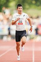 09.07.2019; Luzern; LEICHTATHLETIK - Spitzenleichtathletik Luzern, Yoshihide Kiryu (JPN) 100m Maenner Akani Simbine (RSA) 100m Maenner ; <br /> <br /> (Claudio Thoma/freshfocus)