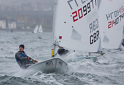 The RYA Youth National Championships 2018. Day 3<br /> <br /> 209977, Jake Bowhay, Stokes Bay Sailing Club, Laser Radial Boy <br /> <br /> Images: Marc Turner / RYA<br /> <br /> For further information contact:<br /> <br /> Richard Aspland, <br /> RYA Racing Communications Officer (on site)<br /> E: richard.aspland@rya.org.uk<br /> m: 07469 854599