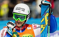 MISSILLIER Steveof France during 2nd Run of 8th Men's Giant Slalom - Pokal Vitranc 2012 of FIS Alpine Ski World Cup 2011/2012, on March 10, 2012 in Vitranc, Kranjska Gora, Slovenia.  (Photo By Vid Ponikvar / Sportida.com)