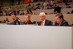 Versteeg Wim, NED, Klompmaker Hester, NED, Loeffen Cor, NED, Van De Schans Wout Jan, NED<br /> KWPN Stallionshow - 's Hertogenbosch 2018<br /> © Hippo Foto - Dirk Caremans<br /> 01/02/2018
