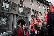 Första maj firande i Stockholm 2018