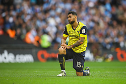 Kane Hemmings of Oxford United dejected from a missed opportunity - Photo mandatory by-line: Jason Brown/JMP -  02/04//2017 - SPORT - Football - London - Wembley Stadium - Coventry City v Oxford United - Checkatrade Trophy Final