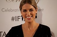 Amy Huberman at the IFTA Film & Drama Awards (The Irish Film & Television Academy) at the Mansion House in Dublin, Ireland, Thursday 15th February 2018. Photographer: Doreen Kennedy