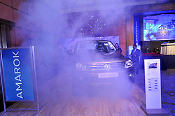 August 3, 2017 - Kathmandu, NE, Nepal - Bibek Bijukchhe, CEO of Volkswagen Nepal officially unrevealing New Amarok at Kathmandu, Nepal on Thursday, August 3, 2017. (Credit Image: © Narayan Maharjan/NurPhoto via ZUMA Press)