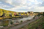 The San Juan River in Pagosa Springs, Colorado