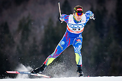 Chauvin Valentin (FRA) during Man 1.2 km Free Sprint Qualification race at FIS Cross<br /> Country World Cup Planica 2016, on January 16, 2016 at Planica,Slovenia. Photo by Ziga Zupan / Sportida