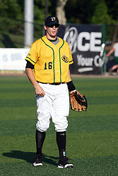 18 May 2012:  Sam Judah during a Frontier League Baseball game between the Windy City Thunderbolts and the Normal CornBelters at Corn Crib Stadium on the campus of Heartland Community College in Normal Illinois