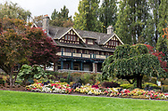 Ceperley House was constructed in 1911 and has been home to the Burnaby Art Gallery since the late 1960's.  The mansion is surrounded by the Century Gardens within the northern border of Deer Lake Park in Burnaby, British Columbia, Canada.