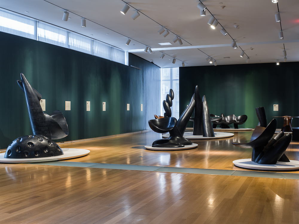 Wendell Castle: Remasteres at the Museum of Arts and Design