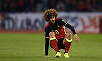20170325 - Brussels, Belgium / Fifa WC 2018 Qualifying match : Belgium vs Greece / <br />Marouane FELLAINI<br />European Qualifiers / Qualifying Round Group H /  <br />Picture by Vincent Van Doornick / Isosport