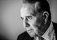 Washington, DC -- Former Sen. Bob Dole, R-Kansas, in his Washington, DC office during a 2014 interview with USA TODAY. Photo by Jack Gruber, USA TODAY
