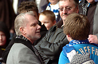 Photo: Tony Oudot.<br />Crystal Palace v Birmingham City. Coca Cola Championship. 17/02/2007.<br />Birmingham City co-owner David Gould meets the fans before the game