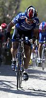 Sykkel. Tour des Flandres 2002. Belgia. 07.04.2002.<br /> Lance Armstrong, USA. US Postal.<br /> Foto: Digitalsport.