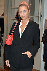 AMBER LE BON at a party to celebrate the launch of Matthew Williamson: Fashion, Print and Colouring Book held at Anthropologie, 158 Regent Street, London on 8th September 2016.