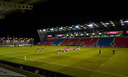 General view of the The AJ Bell Stadium before the match during a Gallagher Premiership Round 12 Rugby Union match, Friday, Mar 05, 2021, in Eccles, United Kingdom. (Steve Flynn/Image of Sport)