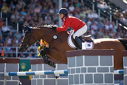 Bloomberg Georgina, (USA), Lilli<br /> BMO Nations Cup<br /> Spruce Meadows Masters - Calgary 2015<br /> © Hippo Foto - Dirk Caremans<br /> 12/09/15
