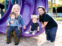 EXCLUSIVE: 'Little Women' star Terra Jole hangs out with her family Joe Gnoffo and children Grayson,1, and Penelope,2, as they head out in Fulerton,CA. The family unit stopped by a local park to hang out and play together. 13 Feb 2018 Pictured: Terra Jole, Joe Gnoffo, Grayson Gnoffo, Penelope Gnoffo. Photo credit: MOVI Inc. / MEGA TheMegaAgency.com +1 888 505 6342