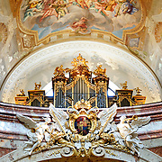 Karlskirche in Vienna, Austria