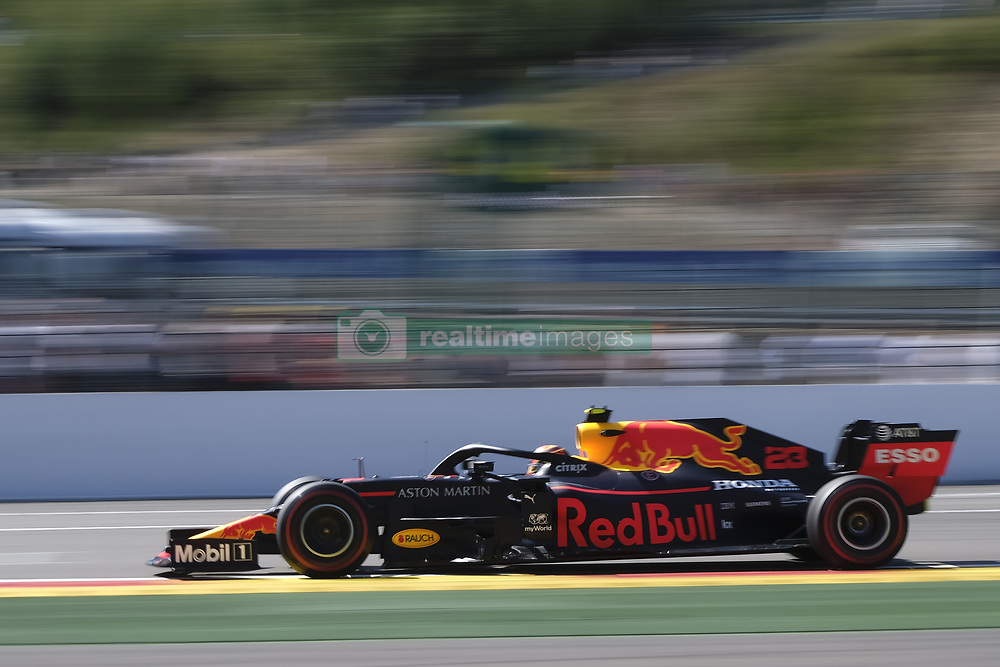 August 31, 2019, Spa Francorchamps, Belgium: ALEXANDER ALBON (THA) in action during the third free practice session of the Formula one Johnnie Walker Belgian Grand Prix at the SPA Francorchamps circuit - Belgium (Credit Image: © Pierre Stevenin/ZUMA Wire)