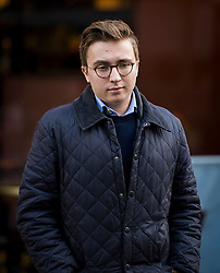 "©  London News Pictures. 28/01/2016. London, UK. ANATOLY LITVINENKO (second left), son of murdered Russian agent Alexander Litvinenko, arrives at The Home Office in London ahead of private talks with British home secretary Theresa May. The meeting comes a week after an official inquiry into her husband's death concluded that his killing was ""probably approved"" by Russian president Vladimir Putin. Photo credit: Ben Cawthra/LNP"