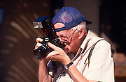 Roger Tory Peterson enjoys photographing birds at the Arizona-Sanora Desert Museum, Tucson, Arizona..Media Usage:.Subject photograph(s) are copyrighted Edward McCain. All rights are reserved except those specifically granted by McCain Photography in writing...McCain Photography.211 S 4th Avenue.Tucson, AZ 85701-2103.(520) 623-1998.mobile: (520) 990-0999.fax: (520) 623-1190.http://www.mccainphoto.com.edward@mccainphoto.com.
