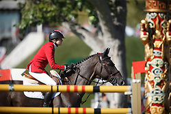 Foster Tiffany, (CAN), Tripple X III <br /> BMO Nations Cup<br /> Spruce Meadows Masters - Calgary 2015<br /> © Hippo Foto - Dirk Caremans<br /> 13/09/15