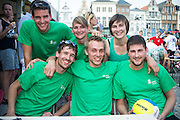 Beachvolleybal Mechelen 2012. Team DEME groep.