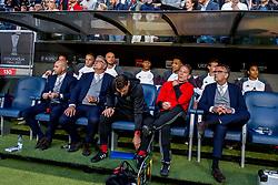24-05-2017 SWE: Final Europa League AFC Ajax - Manchester United, Stockholm<br /> Finale Europa League tussen Ajax en Manchester United in het Friends Arena te Stockholm / Coach Peter Bosch of Ajax