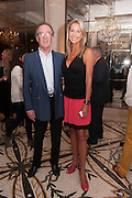 BILL SHEPHERD; JOHANN THOMSON, Juliet Nicolson - book launch party for  her latest novel Abdication, about British society after the death of George V.  The Gallery at The Westbury, 37 Conduit Street, Mayfair, London, 12 June 2012
