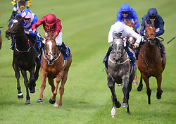 Who's Steph ridden by Colin Keane (right) wins the Derrinstown Stud 1,000 Guineas Trial during Derrinstown Stud Derby Trial Day at Leopardstown Racecourse, Dublin.