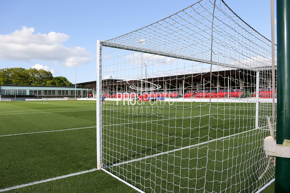 Behind the goal view during the UEFA European Under 17 Championship 2018 match between Israel and Italy at St George's Park National Football Centre, Burton-Upon-Trent, United Kingdom on 10 May 2018. Picture by Mick Haynes.