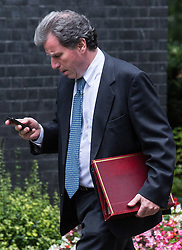 © Licensed to London News Pictures. 15/09/2015. London, UK. Oliver Letwin, Chancellor of the Duchy of Lancaster outside Number 10 Downing Street.  Photo credit : James Gourley/LNP