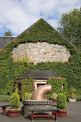 Blair Athol Whisky distillery bells pitlochry sign