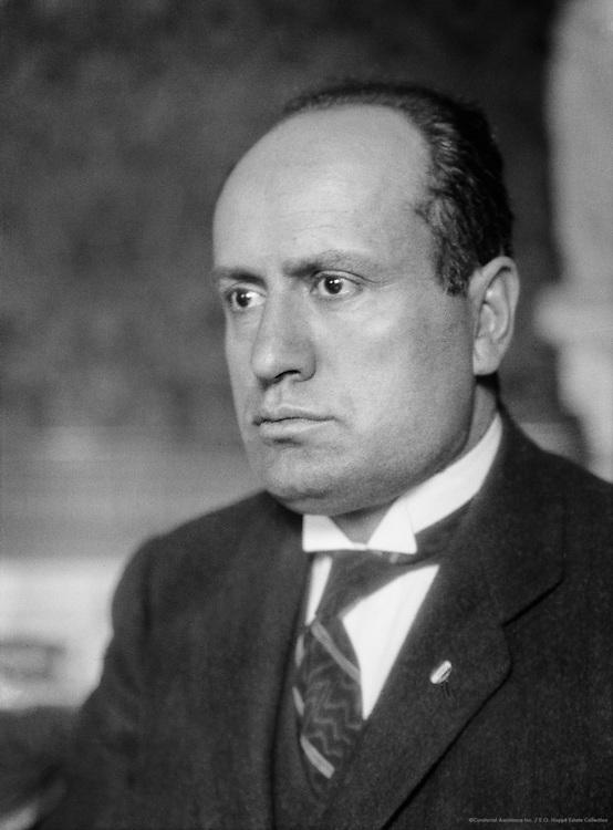 Mussolini, Benito, Italian Prime Minister and Dictator, 1924