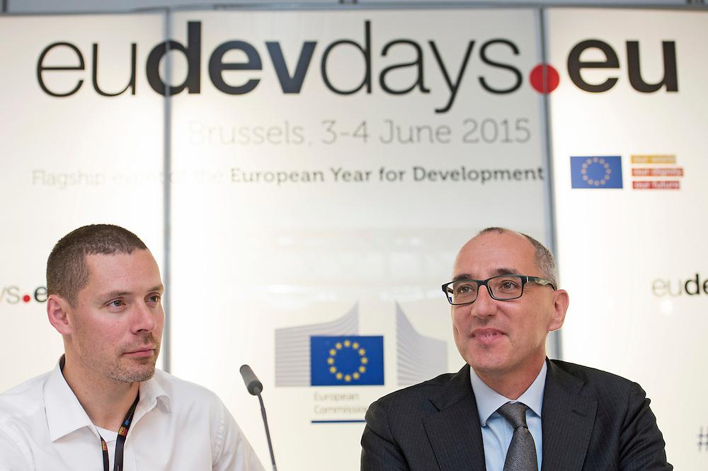 03 June 2015 - Belgium - Brussels - European Development Days - EDD - Energy - Multi-stakeholder partnerships for energy efficiency - Paolo Falcioni<br /> Director General , CECED - Paul Voss<br /> Managing Director , EHP © European Union