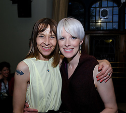 Edinburgh International Film Festival 2019<br /> <br /> Boyz In The Wood (European Premiere)<br /> <br /> Stars and guests enjoy the after party<br /> <br /> Pictured: Kate Dickie and Shauna MacDonald<br /> <br /> Alex Todd | Edinburgh Elite media