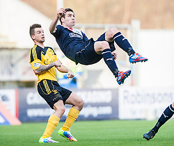 Falkirk's Luke Leahy.<br /> Falkirk 1 v 1 Livingston, Scottish Championship game today at The Falkirk Stadium.<br /> © Michael Schofield.